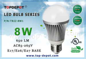 UL 8W LED Bulb (TBJZ-8W1)