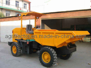 Hydraulic Site Dumper With 4 Wheels Drive (3 tons)