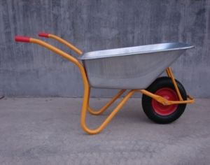 Industial Building Equipment Powder Coating Garden Wheelbarrow Wb5009 pictures & photos