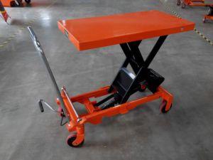 New Protective Wheel Scissor Lift Platform pictures & photos