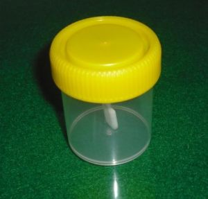 120ml Sterile Stool Container with Screw Cap pictures & photos