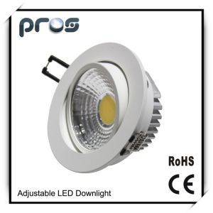 Shop COB High Power LED Downlight 12W/9W pictures & photos