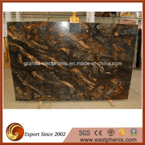 Good Quality Saturnia Gold Granite Slab pictures & photos