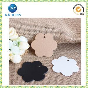 Best Cheap Die Cut Flower Shape Paper Hang Tags (JP-HT065) pictures & photos