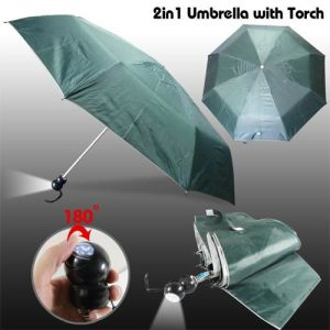 Flash Light, 2 Fold Umbrella (BR-FU-130) pictures & photos