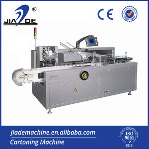 Automatic Sachet Carton Packaging Machine (JDZ-100) pictures & photos