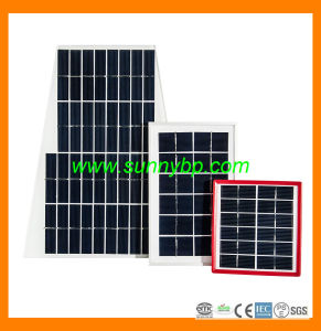 10W-20W-50W-100W Poly Solar Cell Panel with CE-IEC-ISO pictures & photos