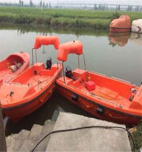 Solas Approved 6 Persons GRP Outboard Engine Rescue Boat pictures & photos
