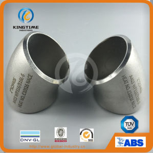 Stainless Steel Butt Weld Fitting 45D Elbow Pipe Fitting with Ce (KT0240) pictures & photos