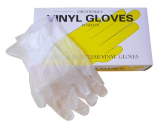 Latex Free Medical Disposable Vinyl PVC Gloves pictures & photos