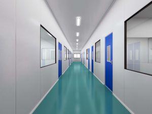 China class 100 electronics dust free pvc curtain clean Pharmac clean room design