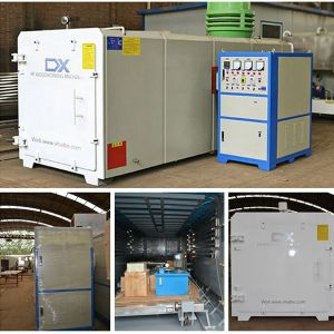 PLC System High Frequency Fast Drying Vacuum Wood Dryer Machine pictures & photos