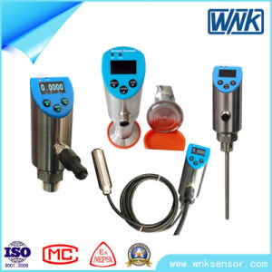 Industrial Flush Diaphragm Sanitary Pressure Transducer with Function of Pressure Control pictures & photos