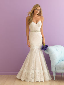Lace Mermaid Wedding Bridal Dress pictures & photos