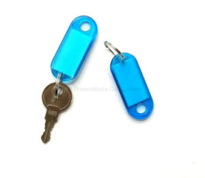 Plastic Key Chain Acrylic Key Chan Transparent Key Chain Promotional Items for Mark Label pictures & photos