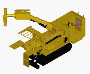 Hydraulic Rock Bolter for Coal Mine pictures & photos