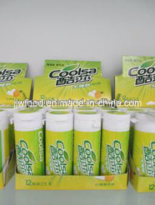 Coolsa 27g Fruit Flavor Dry Xylitol Coffee Flavor Chewing Gum pictures & photos
