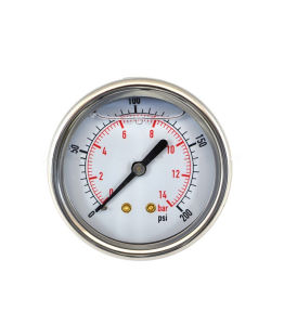 Wika Manometer Gas Gauges LPG Ss Pressure Gauge pictures & photos