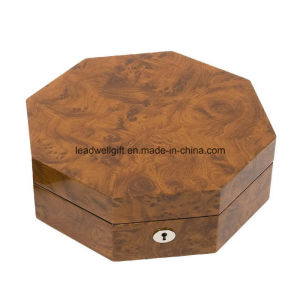 Hand Crafted Octagon Jewelry Box in High Gloss Case pictures & photos