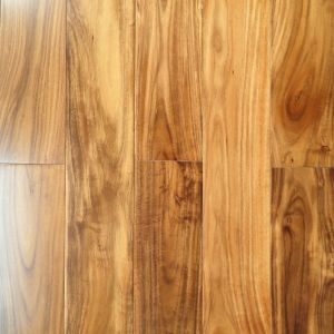 Prefinished Handscraped Asian Walnut Solid Wood Flooring