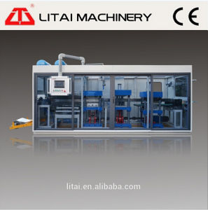 High Output Paper /Plastic Cup Lid Forming Machine for Coffee Cup/Lid Making Machine pictures & photos