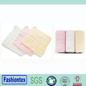 High Quality Baby Sweat Towel Cotton Face Towel Nursing Towel pictures & photos