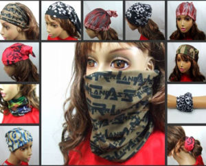 Wholesale Microfiber Custom Scarf Bandana pictures & photos