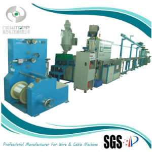 SGS Cable Plastic Single Screw Extruder pictures & photos