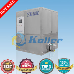 Low Power Consumption 2 Tons Ice Cube Machine with High Efficiency pictures & photos