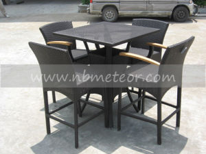 Mtc-007 Rattan/Wicker Bar Set for Outdoor/ Kd Table pictures & photos