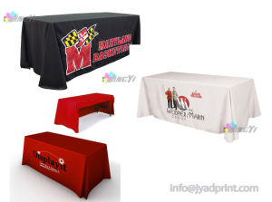 Custom Logo Printing Table Cloth (6FT or 8FT) pictures & photos