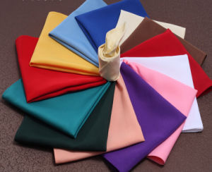 100%Polyester Hotel White Plain Napkin (DPR2130) pictures & photos