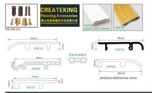 High Foaming Skirting Laminate Floor Accessories pictures & photos
