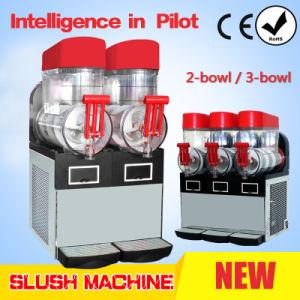 Slush Machine 2 Bowl 15L/Granita Machine pictures & photos