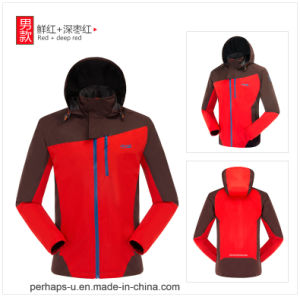 Fashion Mens Winter Softshell Windproof Jacket pictures & photos