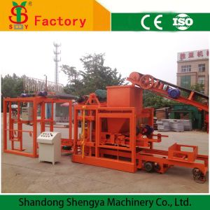 Concrete Hollow Brick Making Machine/Solid Block Making Machine in Algeria, Nigeria and Tanzania Qtj4-26c pictures & photos