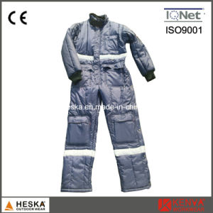 Winter Coverall Warm Garmen Jtumpsuit Mens Safety Freezer Suit pictures & photos