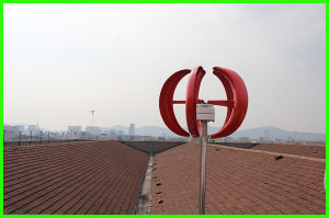 100W Vertical Wind Turbine (SHJ-NEV100R) pictures & photos