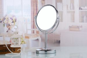 Gift Set for Women Oval Cosmetic Vanity Table Mirror pictures & photos