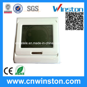 Touch-Screen Programming Thermostat with CE pictures & photos