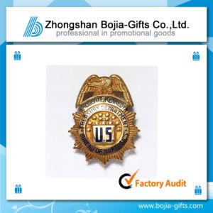 Golden Lapel Pin Badge with Customized Design (BG-BA312)