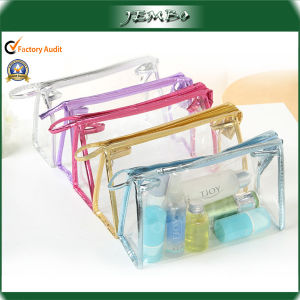 PVC Transparent Clear Fashion Travel Cosmetic Bag pictures & photos