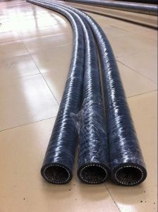 High Wear Resistant Alumina Ceramic Flexible Rubber Hose pictures & photos