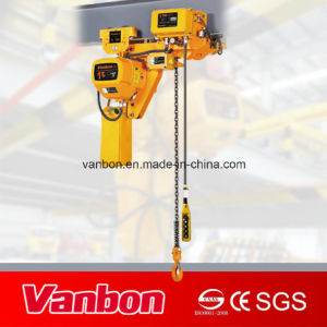 1ton Low Headroom Type Electric Chain Hoist pictures & photos
