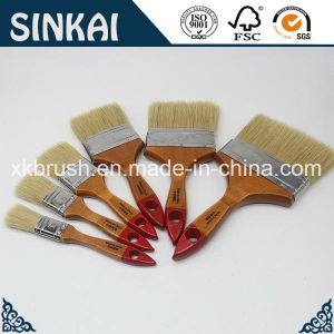 Top Quality Paintbrush Set with Natural Wooden Handle pictures & photos