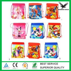 Non Woven Drawstring Duffle Bag pictures & photos