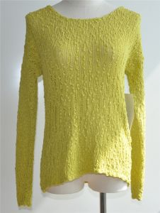 100%Cotton Young Ladies Knit Sweater Fashion Clothing pictures & photos