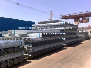 Dn40 Hot DIP Galvanized Steel Pipe pictures & photos