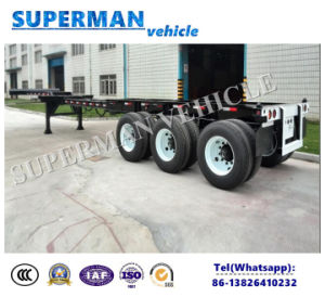 40FT Flexible Frame Container Semi Truck Trailer for Special Use pictures & photos