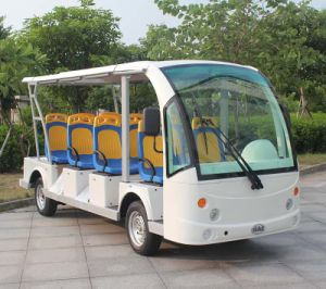 Marshell 11 Person Electric Sightseeing Bus for Resort Use (DN-11) pictures & photos